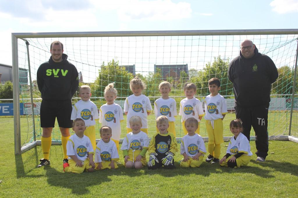 Mannschaftsbild 1. Spiel 09.05.2019 beim SV Immerath